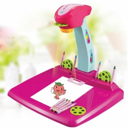 Projektor kresliaci G21 detský ružový