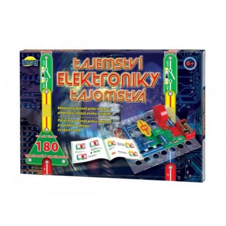 Stavebnica elektronická detská DROMADER Tajomstvo elekroniky 180 experimentov