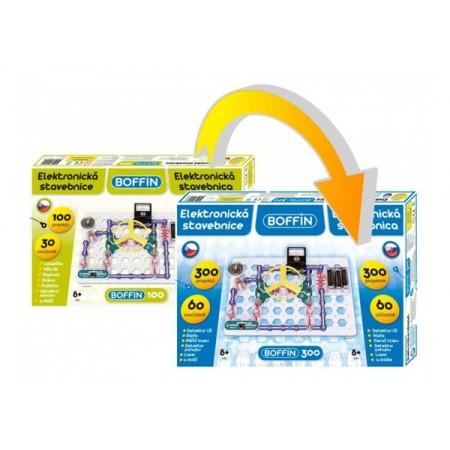 Stavebnica elektronická BOFFIN I 100 - rozšírenie na BOFFIN I 300